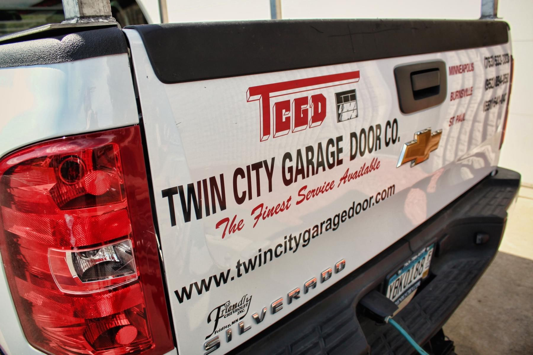 twin city garage doorOffice Locations  Twin City Garage Door Co