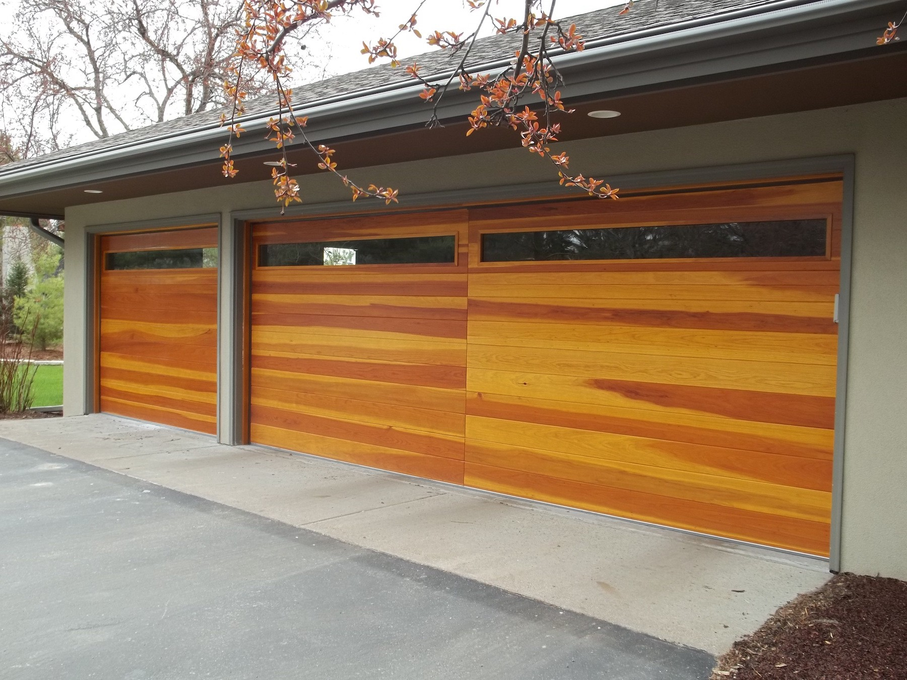 lisalovessanantonio doors faux door in cedar category wood garage process